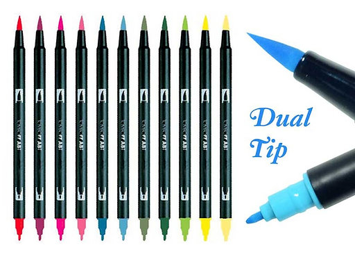 Tombow Dual Brush Markers (Sets)