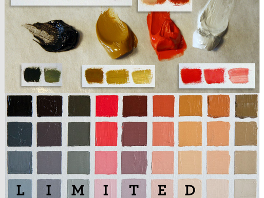 7 Benefits of Painting with a Limited Palette