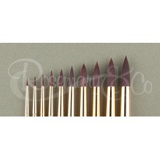 Shiraz Synthetic Brushes by Rosemary & Co. (Pointed Round)