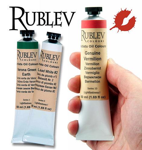 Rublev Artist Oils (Natural Pigments)