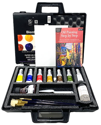 Full Oil Painting Kit