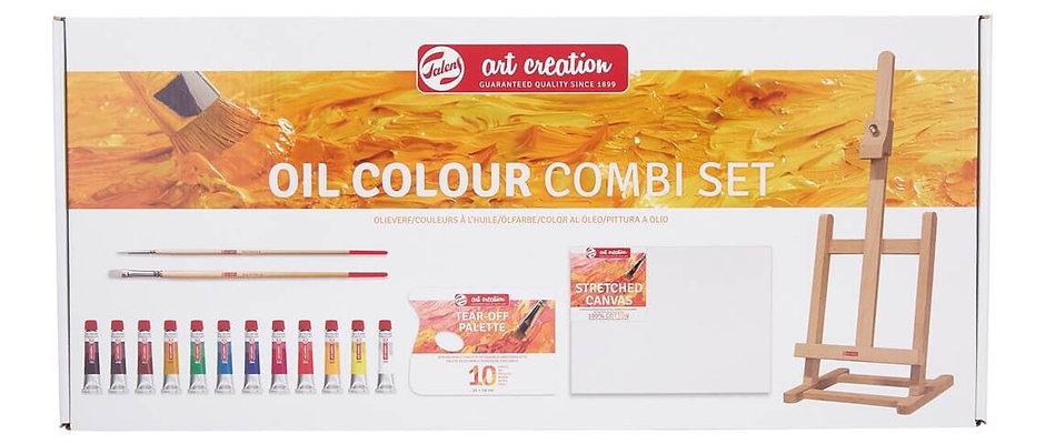 Oil Painting Starter Kit · Art Creation · Oil Combi Set
