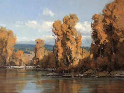 10 things I know about painting fall trees