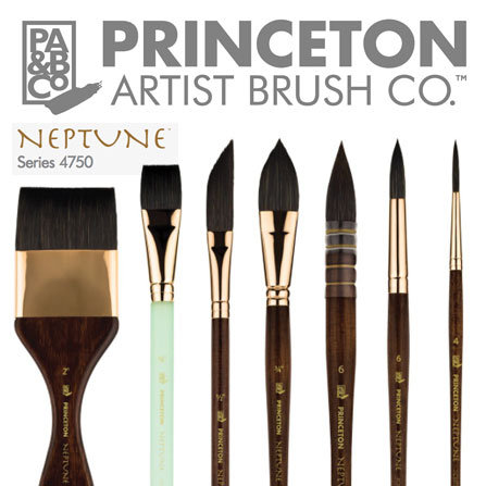 Princeton 4750 Neptune – Synthetic Squirrel Brush