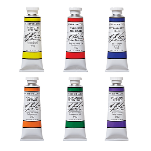 M.graham Oil Paint · 37ml Tubes