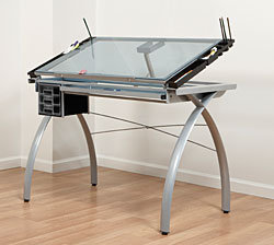 Futura Glass Station · Drafting Desk