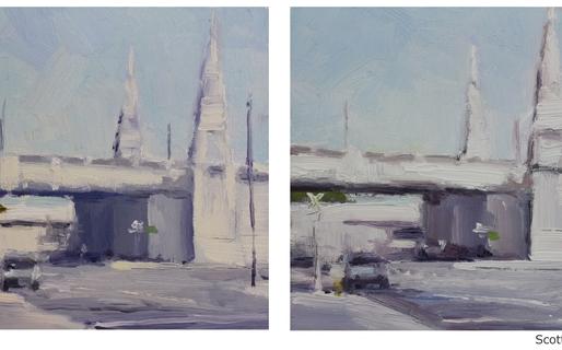 Colour Review: Gamblin Warm White Oil Paint