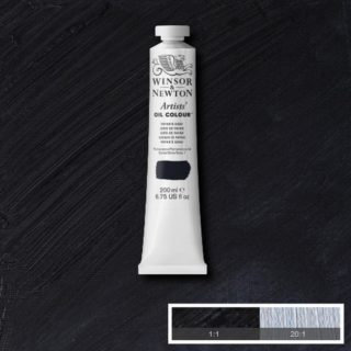 Grey, Black & White (Winsor & Newton Artist Oil)