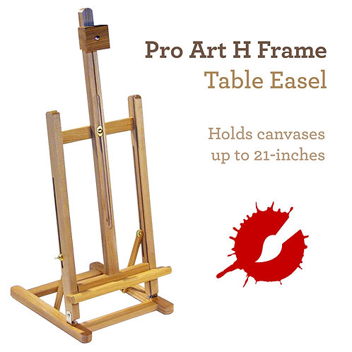 Art Alternatives H-Frame Table Easel