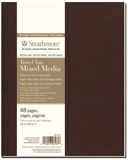 Strathmore Toned Multi-Media Sketchbook - 400 Series