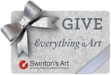 Gift Card Give Everything Art
