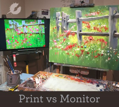 Photo Reference • Print vs Monitor