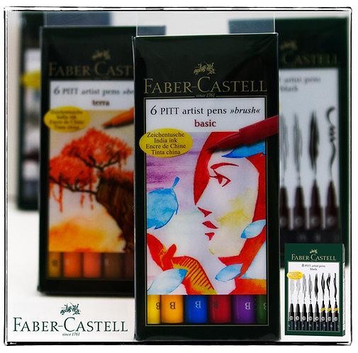 Faber-Castell Pitt Artist Sets