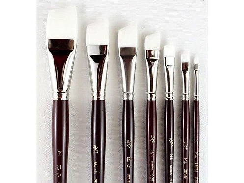 Heinz Jordan · White Taklon Brushes