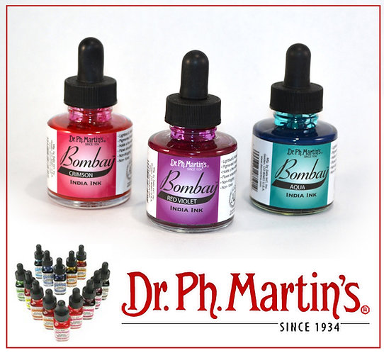 Dr. Ph. Martin's Bombay India Inks