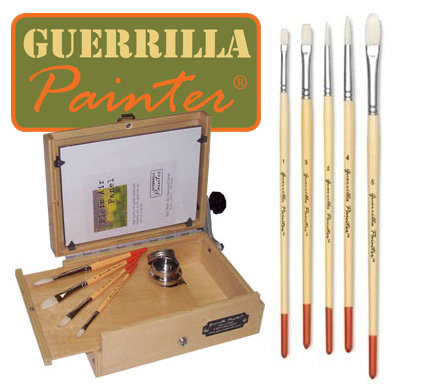 Guerrilla Painter Brush Set