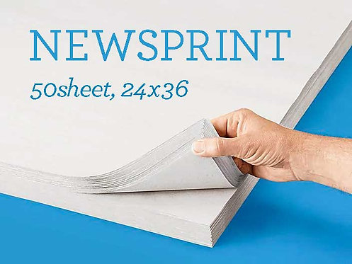 Newsprint Pad - Regular & Smooth