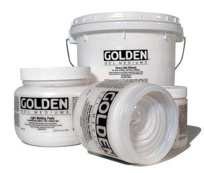 Golden Crackle Paste