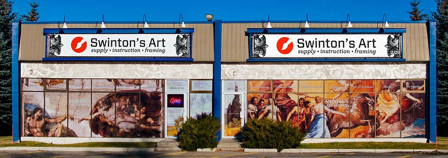 Swinton's Art Supplies Store Front