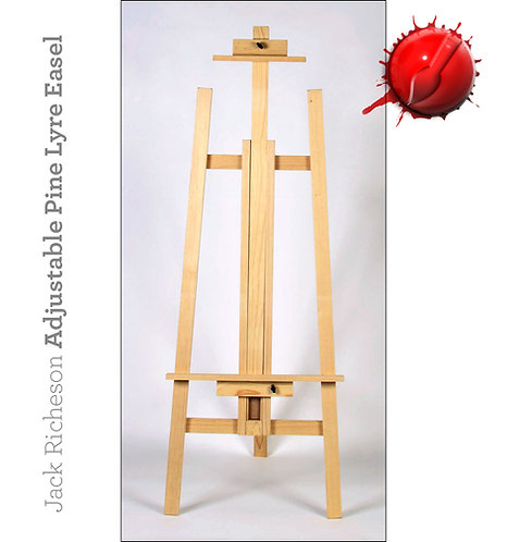Jack Richeson Adjustable Pine Lyre Easel