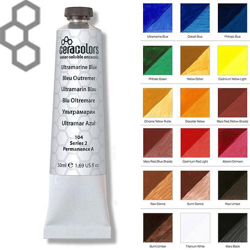 Ceracolors • Water-Soluble Wax (Encaustic Paint)