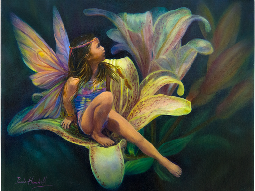 Paula Henchell • Oil Painting Step-By-Step • Flower Fairy