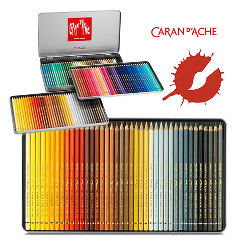 Caran d'Ache Pablo Coloured Pencil Sets
