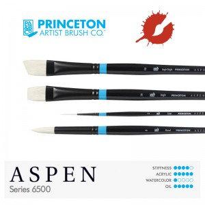 Princeton 6500 Aspen – Synthetic Bristle Brush
