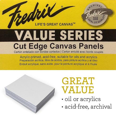 Fredrix Cut Edge Canvas Panels
