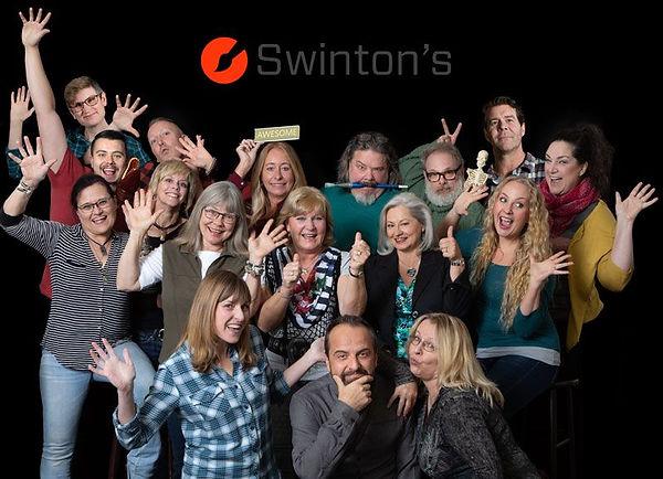 Swinton's Art Supplies Family Picture