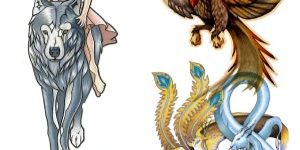 Teen Drawing Workshop Series - Fantasy (Online)
