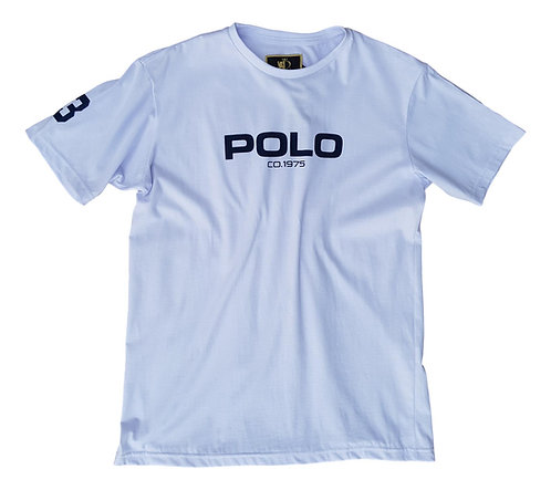 Camiseta Infantil Polo Co. 1975