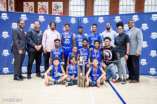 EC boys basketball champs - Walker-Jones