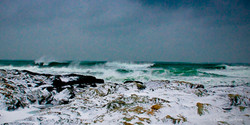 winter at Brenton Point State Park