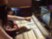 mixing in studio