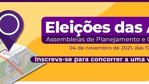 Eleições das Assembleias de Planejamento e Gestão Territorial