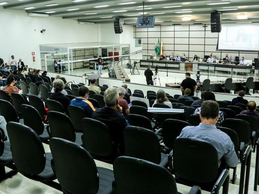 Prefeitura apresenta diagnóstico do Plano Diretor na Câmara de Vereadores