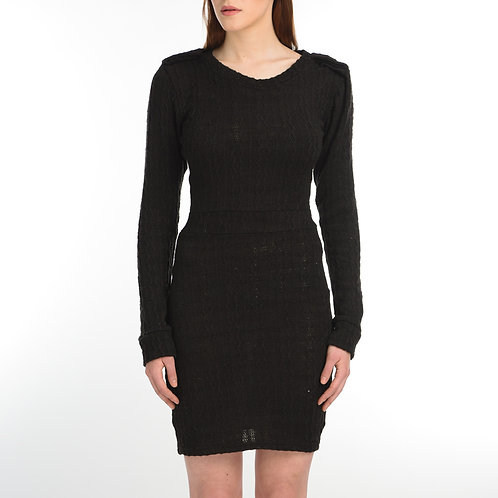 Knit Black Tunic