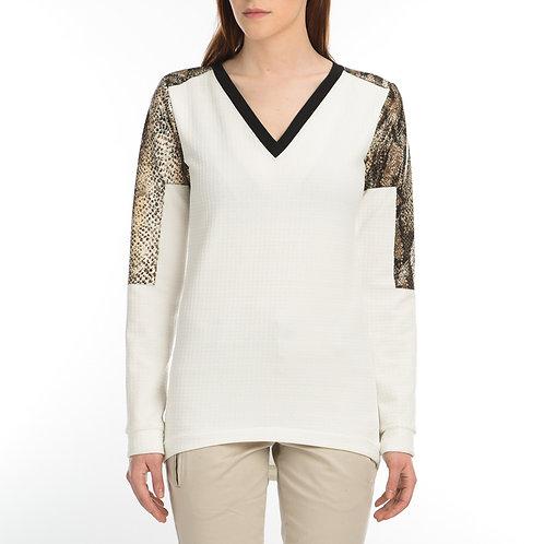 Animal Printed shoulder sweater