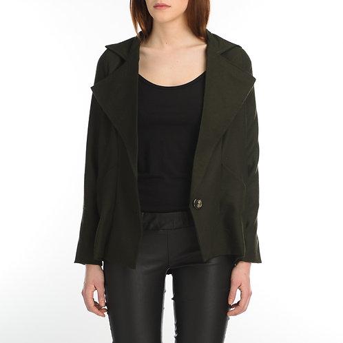 Green Wool Vest