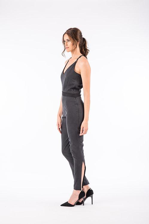 Soft Black Jumpsuit