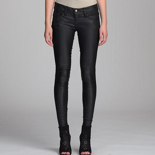 Prada twill stretch black pants