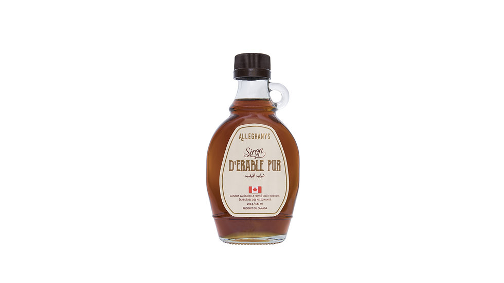 189ml Pur Sirop d'Érable Canadien