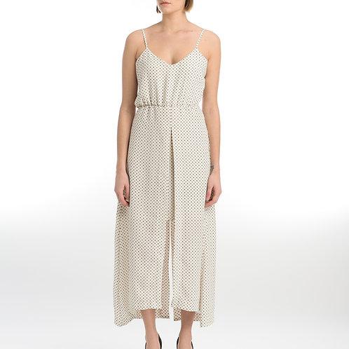 Maxi Dress Printed Crepe