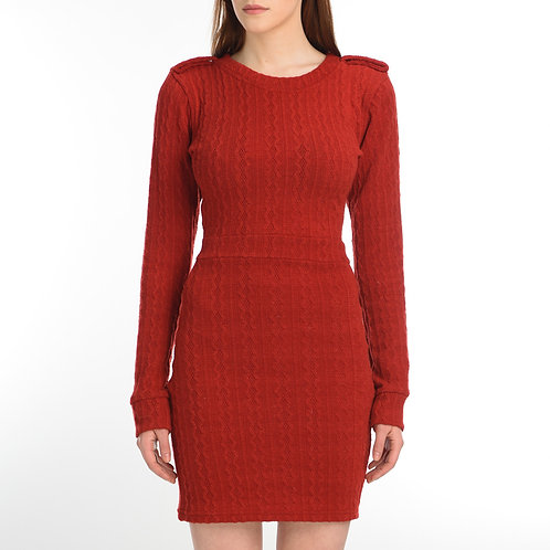 Knit Red Tunic