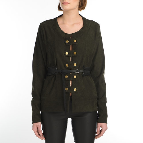 Cardigan Style Militaire