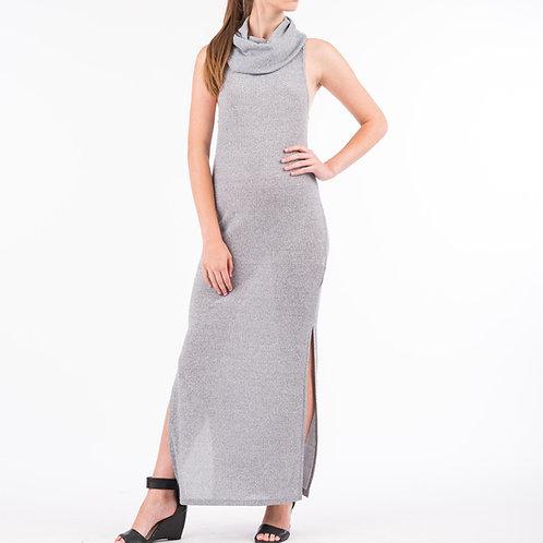 Grey Rib Dress