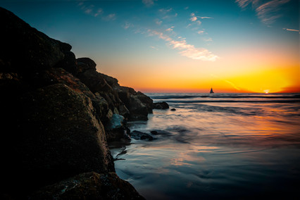 3759_Cali Sunset with boat_COL_22 x 17.j