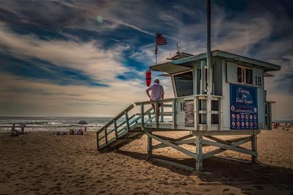 4143_Santa Monica *Lifeguard_COL_22 x 17