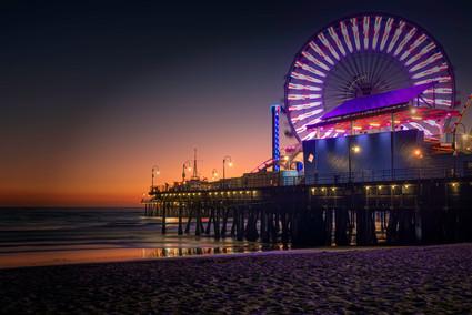 3464_Cali Santa Monica Pier_COL_22 x 17.